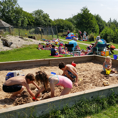 Sandpit for the Little Ones