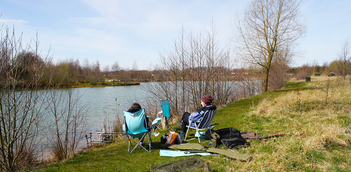 Fishing at Allerthorpe Lakeland Park