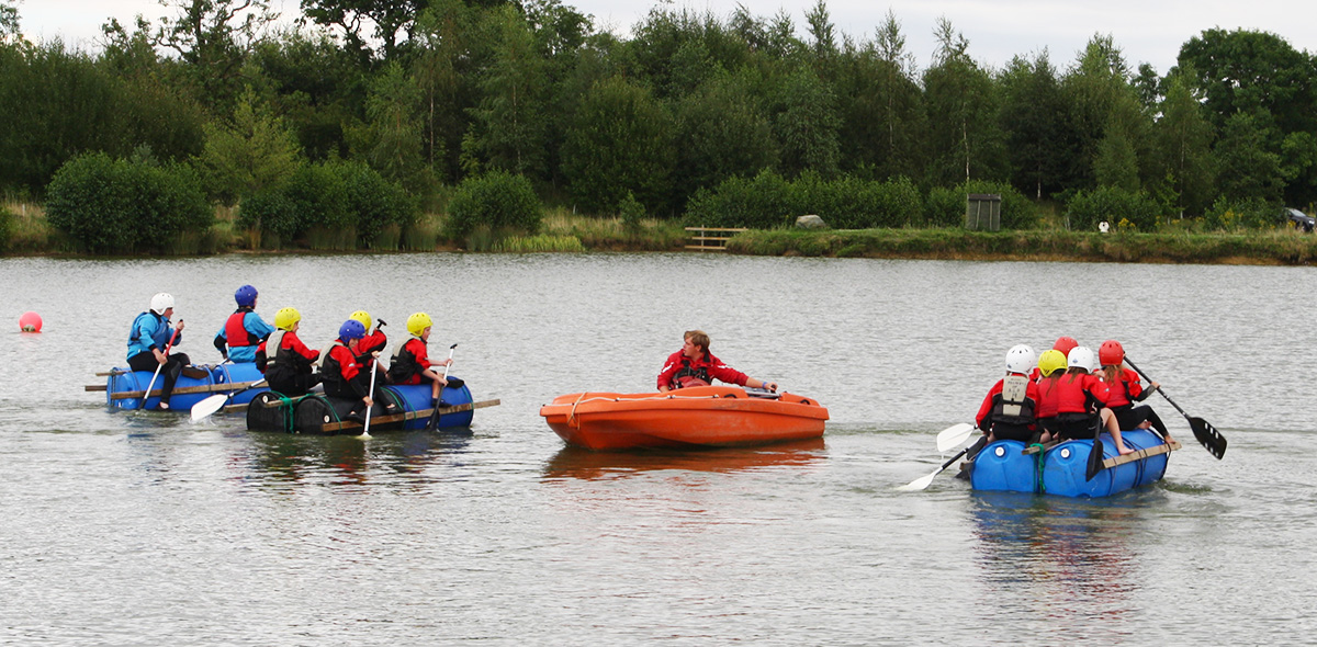 Group activities at Allerthorpe Lakeland Park
